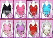 Wholesale 5 Dozen Belly Dance Tops