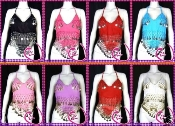 1 Dozen Belly Dance Coin Tops
