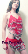 Belly Dance Costume great for Zumba, Bacheloret Parties, Lingerie and other great ideas.