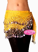 Yellow Hip Scarf