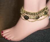 belly dancing anklet