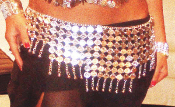 belly dance coin belt belts dancing