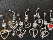 Body Jewelry Heart