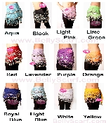 Wholesale Belly Dancing Hip Scarves available in retail or wholesale zumba coin scarf